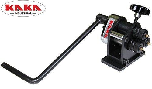 - KAKA Industrial PR-3 Manual Plate Steel Ring Roll Bender, Easy Operation, 3