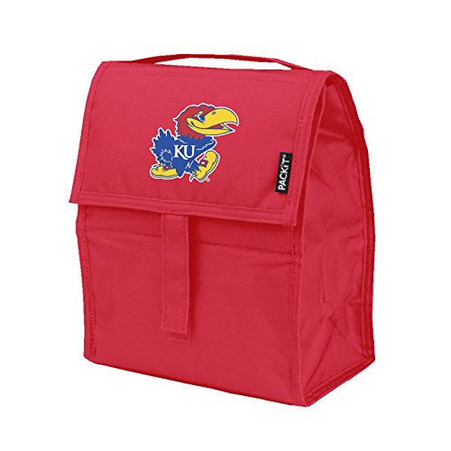 NCAA Kansas Jayhawks Packit Freezable Lunch Bag, Blue ()