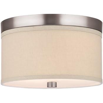 forecast lighting f1319 36 embarcadero three light flushmount with