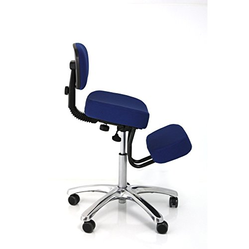 BetterPosture Jazzy Kneeling Chair – Multifunctional Ergonomic Posture Kneeling Chair Helps Reduce Back and Neck Strain by Jazzy Kneeling chair