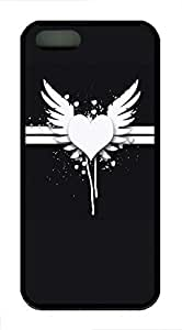 Love White Fly - iPhone 5S Case Funny Lovely Best Cool Customize Black Cover