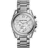 Michael Kors Watches Señoras plata Blair Reloj, Plateado