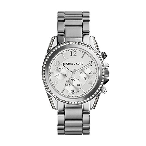 Michael Kors Women's Blair Silver-Tone Watch - Michael Silver