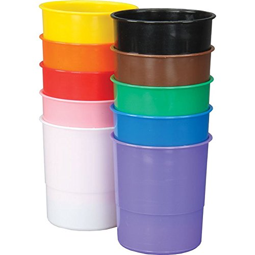 [해외]Really Good Stuff Colorful Plastic Supply Cups / Really Good Stuff Colorful Plastic Supply Cups