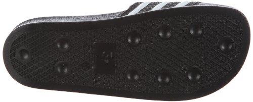 adidas Originals ADILETTE LADY 072329 - Sandalias para mujer Negro / Blanco