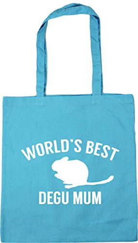 Beach degu best HippoWarehouse mum Bag litres World's x38cm Surf 10 42cm Gym Shopping Tote Blue rErW0Uf