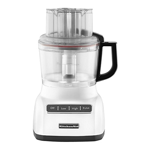 KitchenAid KFP0922CU 9-Cup Food Processor with Exact Slice System – Contour Silver