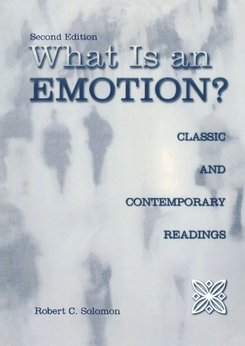 What Is an Emotion?: Classic and Contemporary Readings