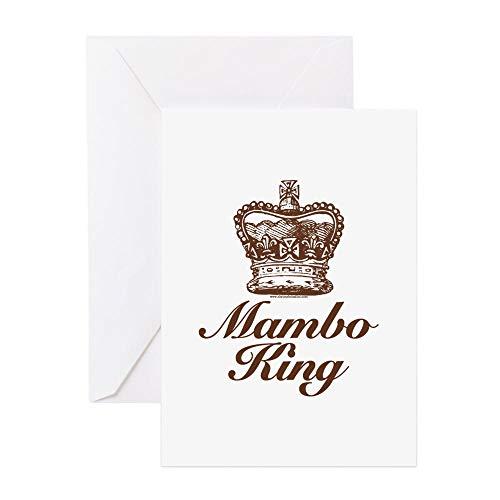 CafePress Mambo King Greeting Card, Note Card, Birthday Card, Blank Inside Matte