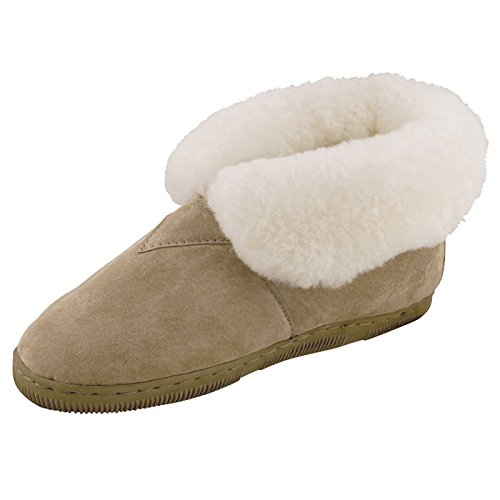 Old Friend Women's Fleece Lined Bootie Slippers