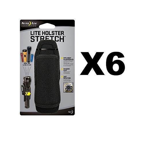 Nite Ize Lite Holster Stretch Flashlight Holster (6-Pack)