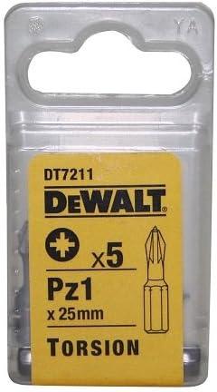 Dewalt DT7211-QZ Bits PZ 1 x 25mm Torsion 5 Stk.