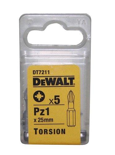 DeWalt DT7211QZ PZ1 25mm Torsion Bits 5 Pieces