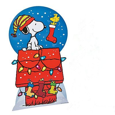 Peanuts Christmas Stand-Up (Photo Stand Ups)