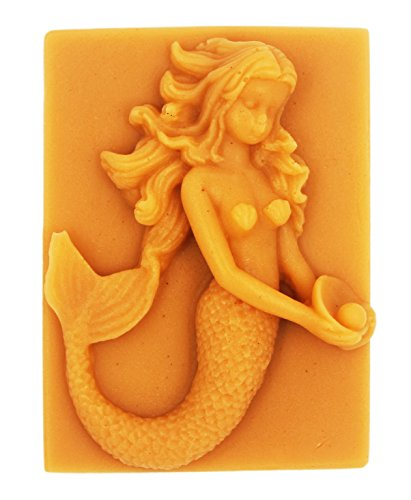 Longzang Mermaid mould S282 Craft Art Silicone Soap mold Craft Molds DIY Handmade soap molds by Longzang