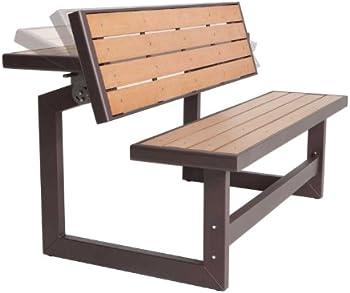 Lifetime Convertible Wood Bench