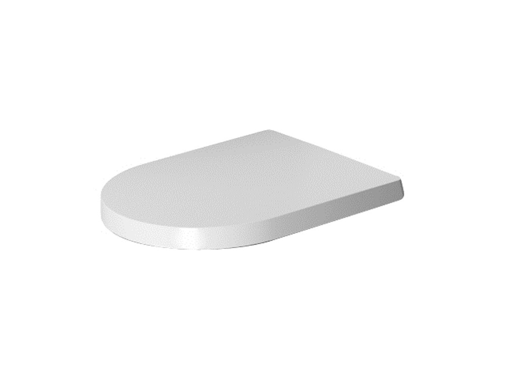 Duravit ME by Starck Toilet Seat and Cover 0020190000 White by Duravit
