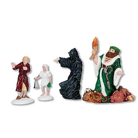 A Christmas Carol Spirits.Department 56 Dickens A Christmas Carol Village Three Spirits Visit Accessory Figurine
