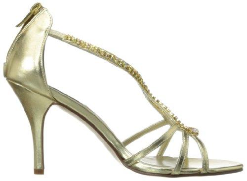 Women's Manmade Josie Dress Metallic Dyeables Gold TqdBndx