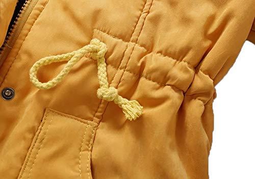 Doublure Fourrure Manteau Veste Parka Fausse Chaud Rembourré Épaissir Lichll Polaire Capuchon Femmes 9 Hiver Coton Doublé À Dames 5qAR4jL3