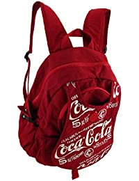 Nylon Basic Multipurpose Backpacks Nylon Backpack 12 X 15 X 5.25 Inches Red