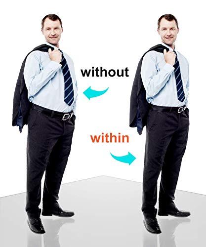 41JH4W5VOOL ✅ AGRADABLE & TRANSPIRABLE & SECADO RÁPIDO - El calzoncillos boxer hombre hecho de 85% nylon + 15%, son elásticos, suaves, se adapta perfecto al su cuerpo. Tecnología de absorción de humedad reducir irritante olor a sudor ✅ Adelgazente de la BARRIGA & REDUCE 3 TALLAS - la faja redutora ofrece el mayor control de cintura y abdomen, le hace tener el vientre plano y más delgada. Si le molestan los michelines de la cintural o la grasa en barriga , la faja es un mejor regalo OFERTA,SALE !!!