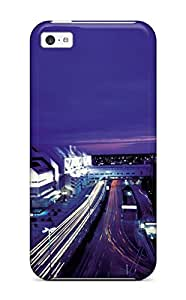 New Premium HermanLWilliams Berlin City Skin Case Cover Excellent Fitted For Iphone 5c