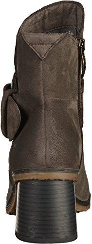 Tamaris1-25043-37-214 - botines de caño bajo Mujer, color gris, talla 38 EU