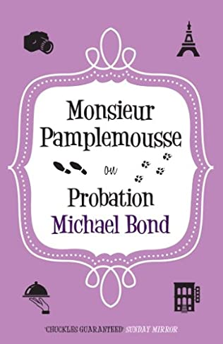 book cover of Monsieur Pamplemousse on Probation
