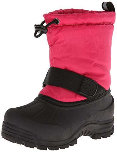 Northside Kids Girls Frosty Mid-Calf Pull On Snow Boots, Berry, Size 13 M Us (Berries Mid Calf Boot)