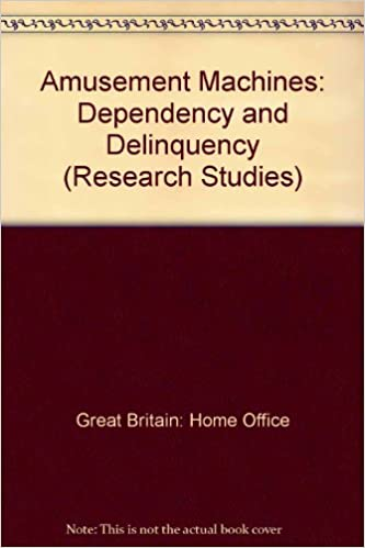 ??DOCX?? Amusement Machines: Dependency And Delinquency (Home Office Research Study). todas Gourmet about known estamos Hosts