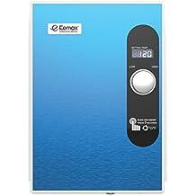 Eemax EEM24018 Electric Tankless Water Heater, Blue