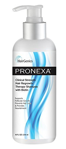 HairGenics Pronexa Clinical Strength Hair Regrowth Therapy Shampoo With Biotin 8 FlOz