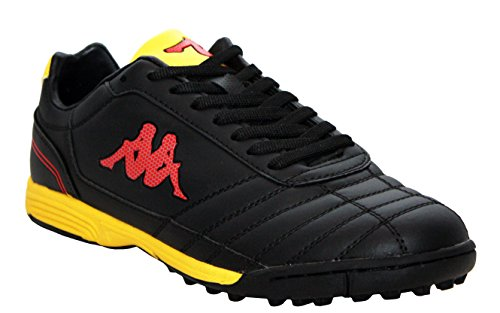 Kappa - Botines hombre Black/Yellow/Red