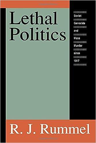 Book Lethal Politics: Soviet Genocide and Mass Murder Since 1917