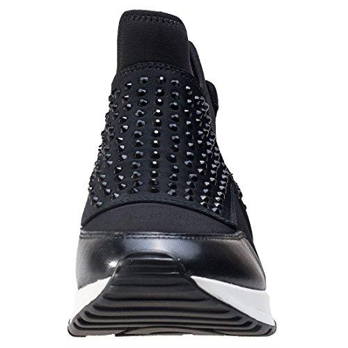 ASH Laser Stone Damen Sneaker Schwarz Schwarz