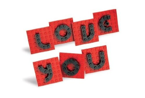 LEGO Valentine Letter Set 40016 41 Piece Exclusive Valentine Set (Lego Hero Factory Base)