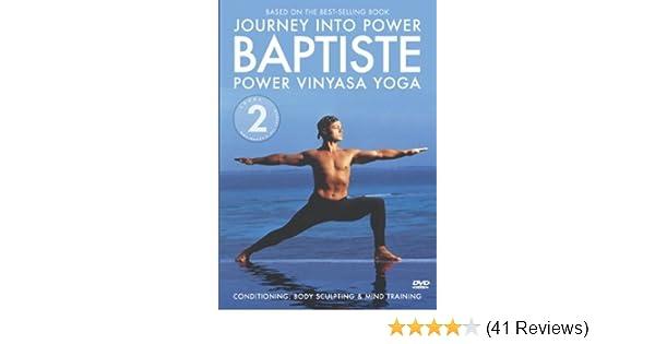 Amazon Com Baron Baptiste Journey Into Power Level 2 Power Vinyasa Yoga Baron Baptiste Good Times Movies Tv