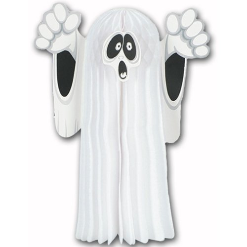 Tissue Hanging Ghost Party Accessory (1 count) (Ghost Cutouts)