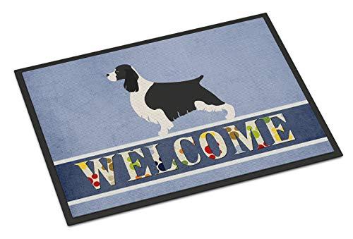 Caroline's Treasures English Springer Spaniel Welcome Doormat 18