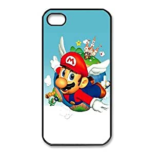 iphone4 4s Phone Case Black Super Mario Bros KMH4940427