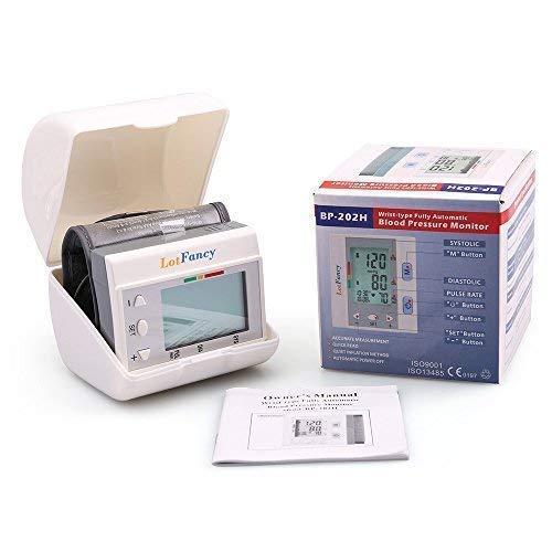 Wrist Pressure Monitor by Sphygmomanometer 4 User,