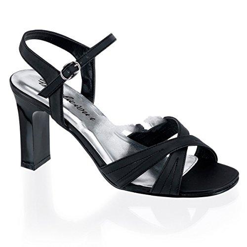 Fabulicious - Sandalias de vestir para mujer negro Schwarz