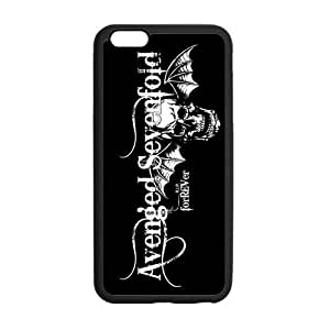 Protective TPU Rubber Coated Case Cover for iphone 5s A7X Avenged Sevenfold
