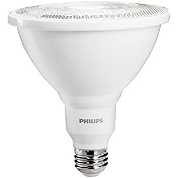100 Watt Indoor Flood Light Bulbs: Philips 460105 100 Watt Equivalent Bright White Dimmable Indoor/Outdoor  PAR38 Led Flood Light Bulb,Lighting