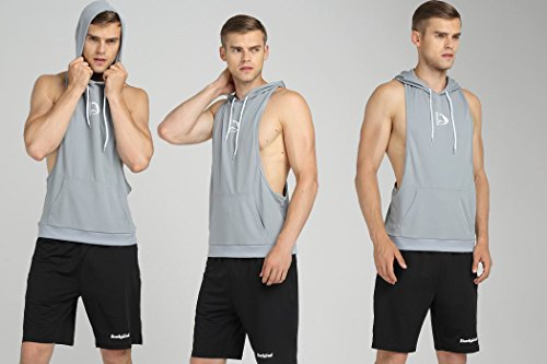 6d0a71d24561c S-muscle Mens Professional Workout Stringer Hoodie Tank Tops With Top  Network Fabric