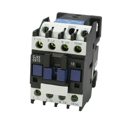 Uxcell 660V 25 Amp CJX2-09 Coil 3 Phase 1NO Motor Control AC Contactor