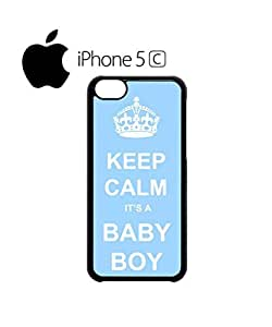 Keep Calm it is a Boy Mobile Cell Phone Case Cover iPhone 5c Black