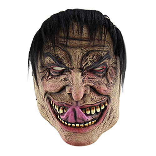 Scary Easy Costumes - ErYao Halloween Cosplay Scary Mask Costume