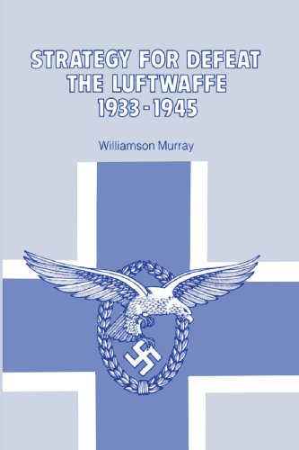 Large book cover: Strategy for Defeat: The Luftwaffe, 1933-1945
